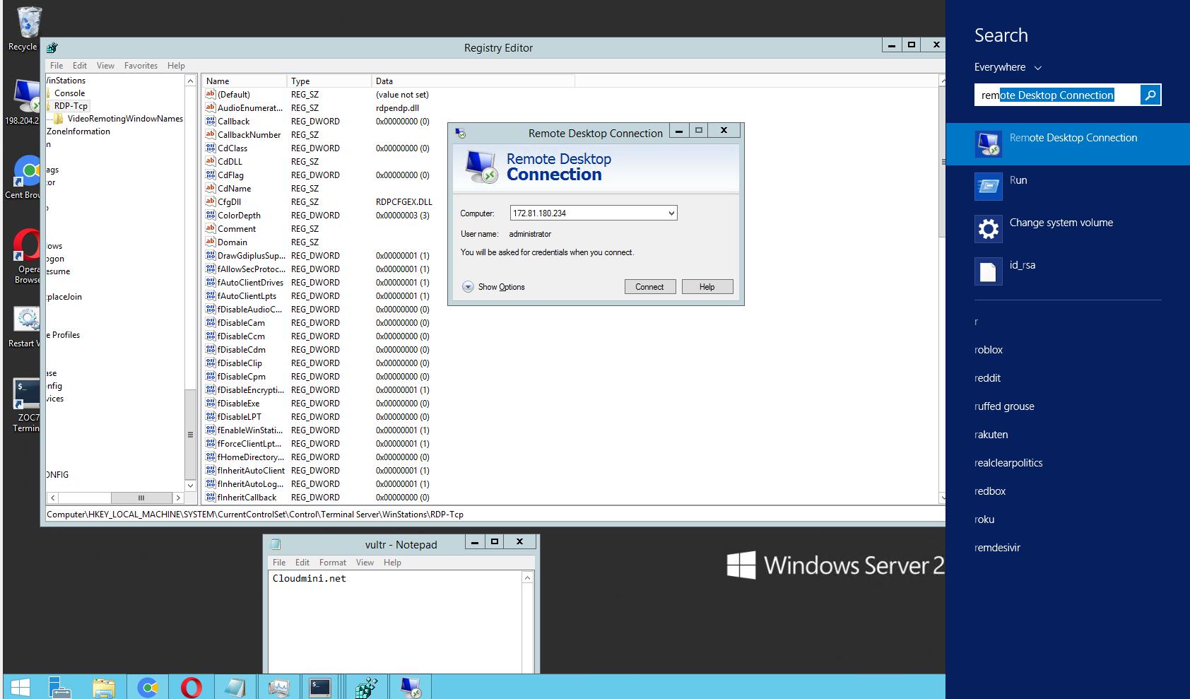 Hướng dẫn thay đổi port của remote desktop
